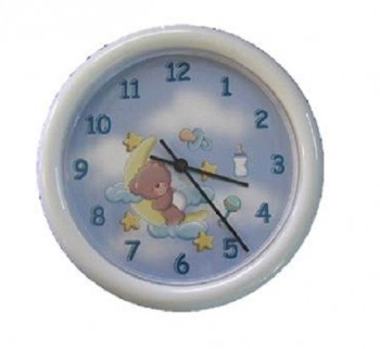 Baby Boy Personalized Clock