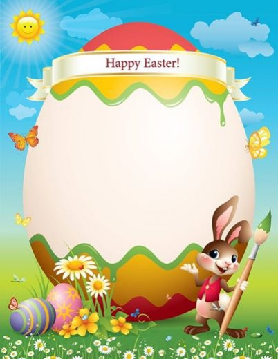 Letter from the easter bunny my storybook adventure for Letter to easter bunny template