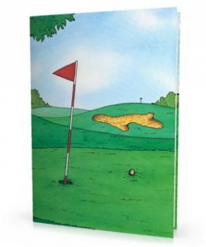 Golf Adventure Personalized Book