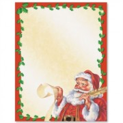 Old Fashion Santa Letter
