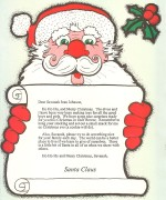 Personalized Letter From Santa - with Face